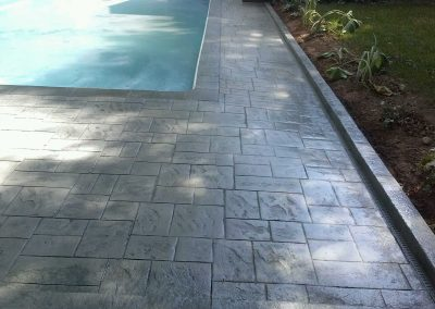 Decorative Concrete Pool Decks 1