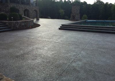 Decorative Concrete Pool Decks 17