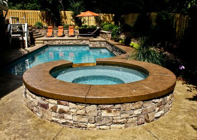 Decorative Concrete Pool Decks 2