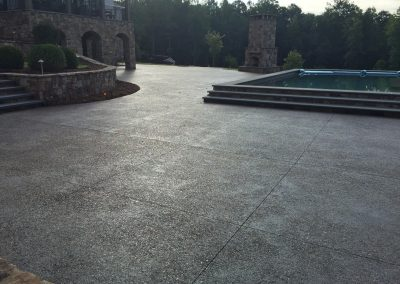 Decorative Concrete Pool Decks 20