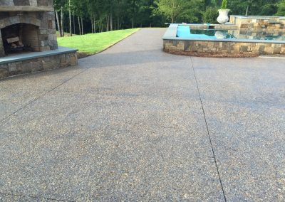 Decorative Concrete Pool Decks 21