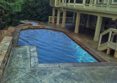 Decorative Concrete Pool Decks 30