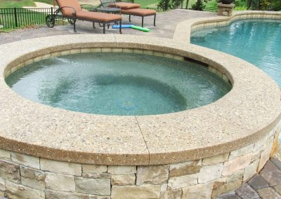 Decorative Concrete Pool Decks 32