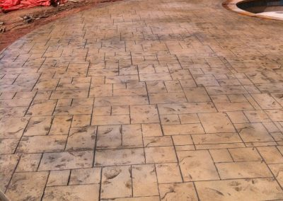 Decorative Concrete Pool Decks 7