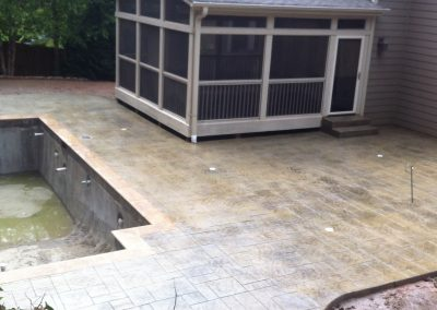 Decorative Concrete Pool Decks 9