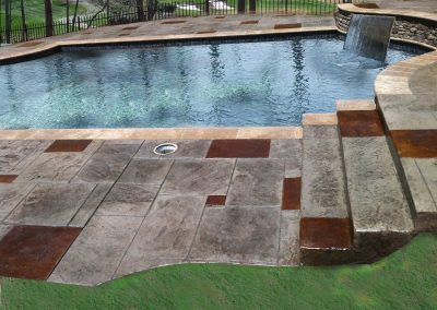 Beautiful Decorative Pool Decks 2