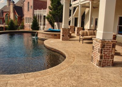 Decorative Poolside Patio 2